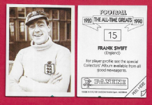 England Frank Swift Manchester City 15